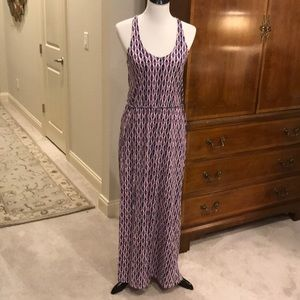 Soft Joie Tie Die-Style Long Dress